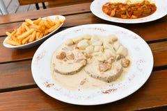 Repas délicieux Images stock