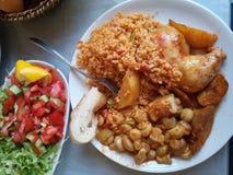 Repas délicieux Images libres de droits