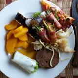 Repas délicieux au Vietnam Photos libres de droits