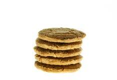 Repas d'avoine de biscuits avec la fraise. Photographie stock libre de droits