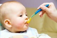 Repas de bébé Image stock