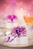 Repas de célébration Images stock