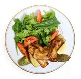 Repas de courgette de Vegan Image stock