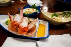 Repas de crabe Photos libres de droits