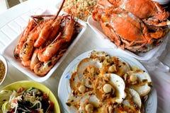 Repas de fruits de mer Image stock