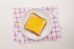 Repas de pain grillé doux image stock