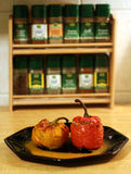 Repas de paprika Photographie stock libre de droits
