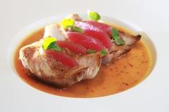 Repas de porc Photo stock
