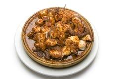 Repas de poulpe Images stock