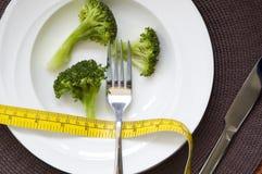 Repas de régime de brocoli Photographie stock libre de droits