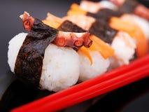 Repas de sushi de nigiri de série de sushi Photographie stock libre de droits