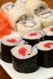 Repas des fruits de mer Photographie stock