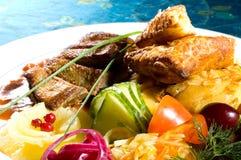 Repas délicieux ! - 11 Photo libre de droits