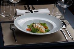 Repas gastronome Photo libre de droits