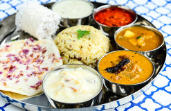 Repas indien photographie stock libre de droits