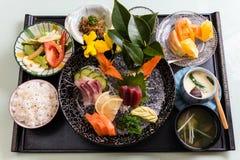 Repas japonais Photo stock