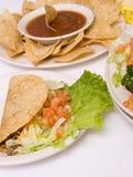 Repas mexicain image libre de droits