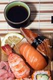 Repas national japonais Photographie stock libre de droits