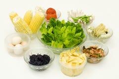 Repas organique sain photographie stock libre de droits