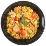 Repas prêt de Paella Images libres de droits