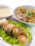 Repas réglé d'Asiatique Photographie stock libre de droits