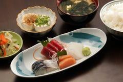 Repas réglé de Japonais Photographie stock