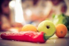 Repas sain photographie stock libre de droits