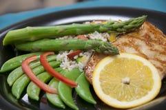 Repas sain de poulet Photographie stock libre de droits