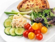 Repas sain de salade Photo stock