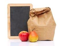 Repas scolaire Photographie stock