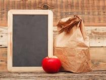 Repas scolaire Photo stock