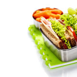 Repas scolaire Image stock