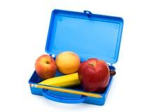 Repas scolaire sain Photos stock