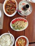 Repas thaïlandais sur Koh Phi Phi Photo stock