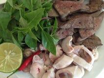 Repas traditionnel vietnamien image stock