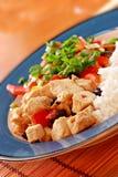Repas végétarien images libres de droits