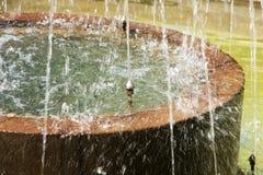 repbulic中央chishinau详细资料喷泉摩尔多瓦的公园 免版税库存图片