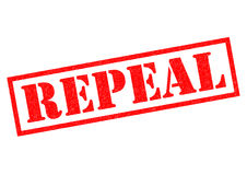 REPEAL Stock Image