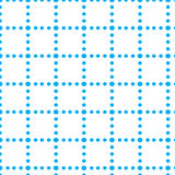 Repeat dot cube blue composition geometric abstract vector pattern Stock Photography