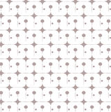 Repeat dot grey and white background abstract geometric vector pattern Stock Photography