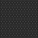 Repeat geometric texture, black & white linear figures Royalty Free Stock Images