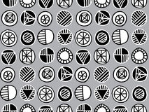 Repeat geometry  pattern Royalty Free Stock Photo
