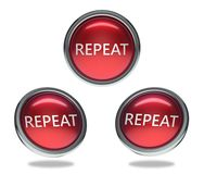 Free Repeat Glass Button Stock Image - 116617791
