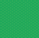 Repeat green geometric abstract, square background Stock Image