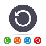 Repeat icon. Refresh symbol. Loop sign. Stock Photography