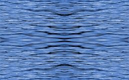 REPEAT PATTERN OF RIPPLED WATER. Image of an abstract blue repeat pattern of ripples on water stock photos