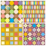 Repeat patterns (seamless backgrounds) Royalty Free Stock Image