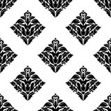 Repeat seamless floral pattern Royalty Free Stock Photos