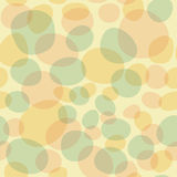 Repeat Spring Abstract Bubble Egg Pattern. Repeat spring, Easter, or party pattern featuring bubble or egg shapes in fun colors including yellow, orange, blue Vector Illustration