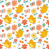Repeat Spring Pattern Royalty Free Stock Photography